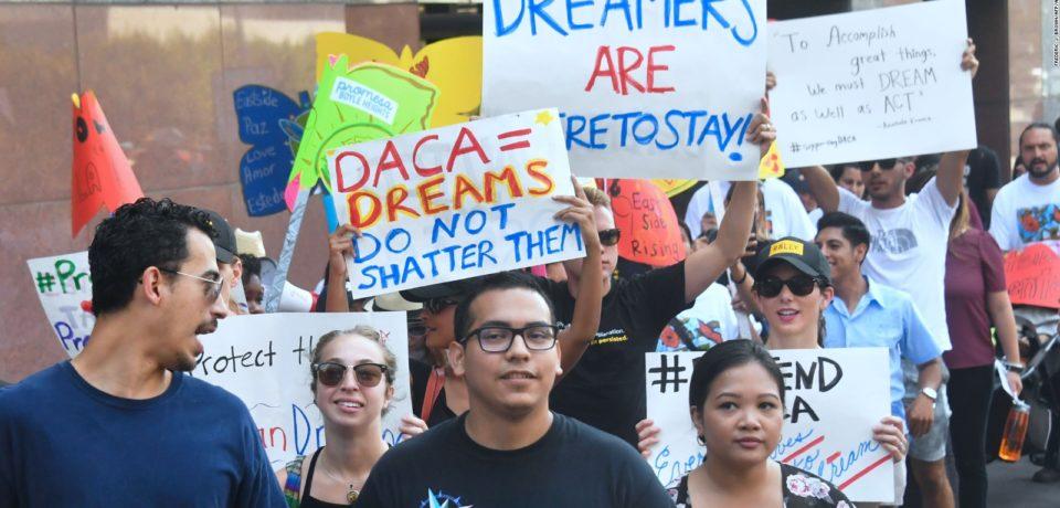 1 de cada 5 estadounidenses quiere que los dreamers sean deportados